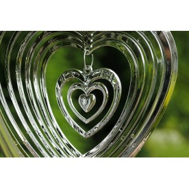 Spinning Heart Decoration