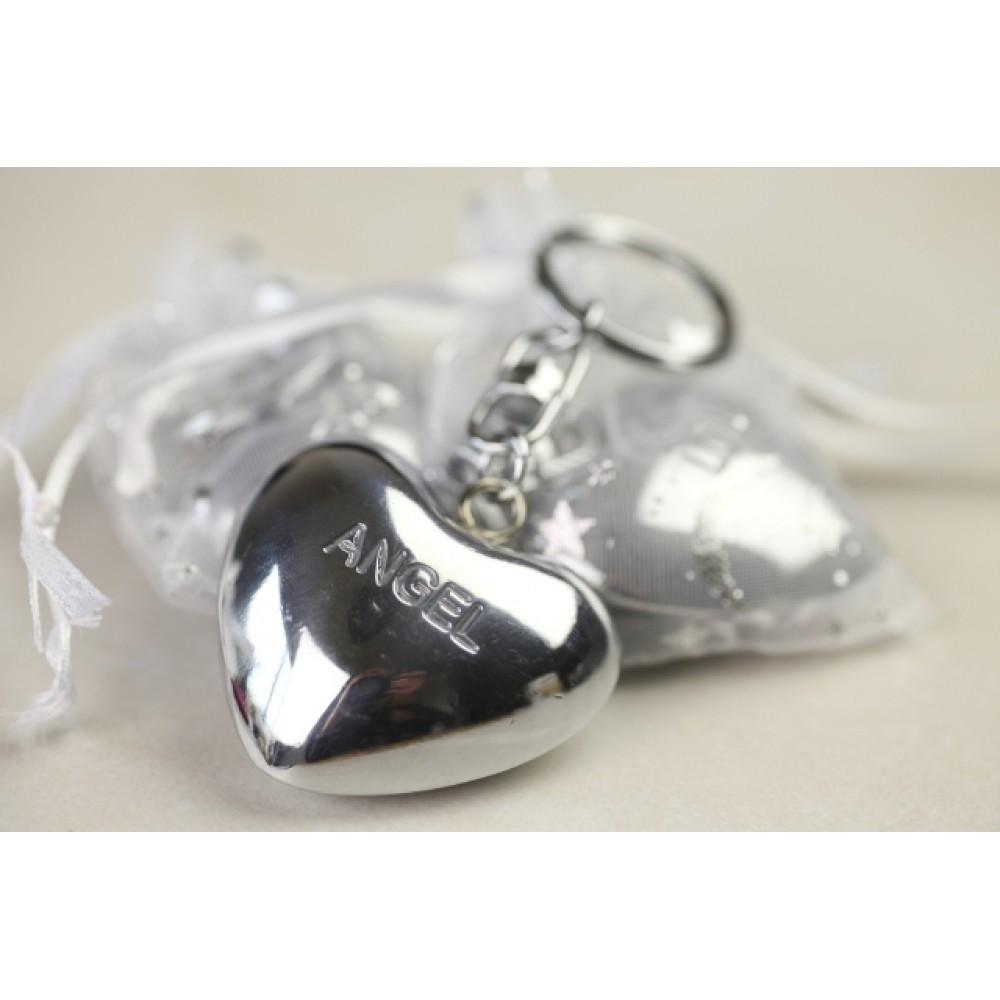 Chiming Heart Keyring
