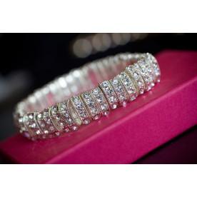 """Rhinestone Bracelet - """"Ritz"""""""